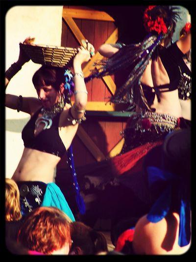 Renaissance Festival Belly Dancing Whirlingdervish at the NC Ren Faire