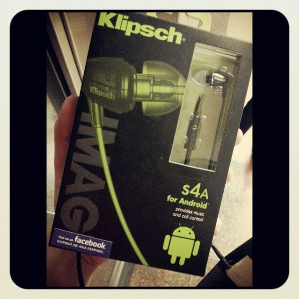 Hello baby KLIPSCH Eargasm