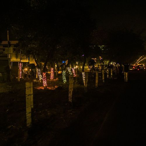 Nh5 Lepl_Road Night Lightings Bezawada