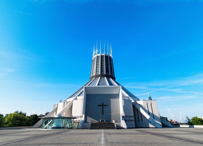 Liverpool Metropolitan Cathedral Cathedral Catholic Church Catholic Liverpool, England Architecture