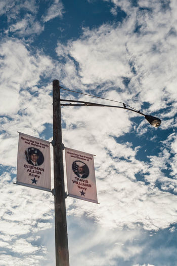 Stephan Allen, Travis Williams Arm Cloud - Sky Homefront Military Orick Ca Pole Sign Sky Ve War
