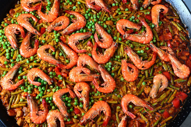 Food And Drink Food Freshness Close-up Healthy Eating Ready-to-eat Wellbeing Indoors  No People Vegetable Paella Paellas