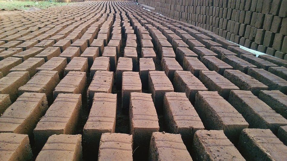 Bricks manufacturing pt2.. Pattern Pieces Sony EXPERIASP Landscape_Collection Landscapes Vintage Photo Vintage Photography No People Weekend Snaps Good Evening
