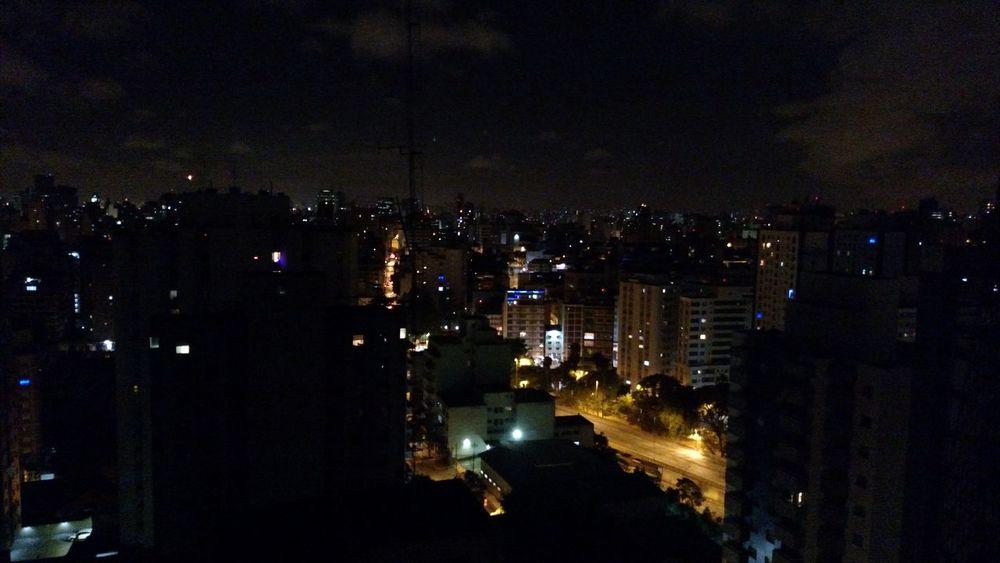 Night Lights Sao Paulo - Brazil 24 Hours Carpe Diem