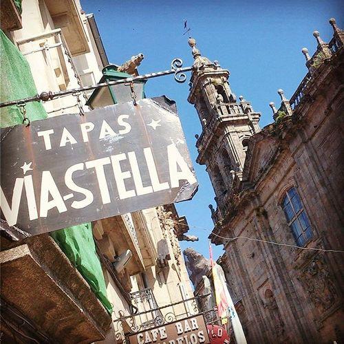 Santiago de Compostela, Galicia. It's so much fun wandering Santiago's narrow streets and exploring its many excellent tapas bars. Tapas Atapar Pintxos Santiagodecompostela Galicia Galiza Travelgram Traveleurope Latergram Travelspain SPAIN