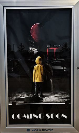 https://youtu.be/ATWP-mgmNiw The Impurist Reflections Stephen King It Movie Poster The Darkness Within Movie Picture Coming Soon You'll Float, Too