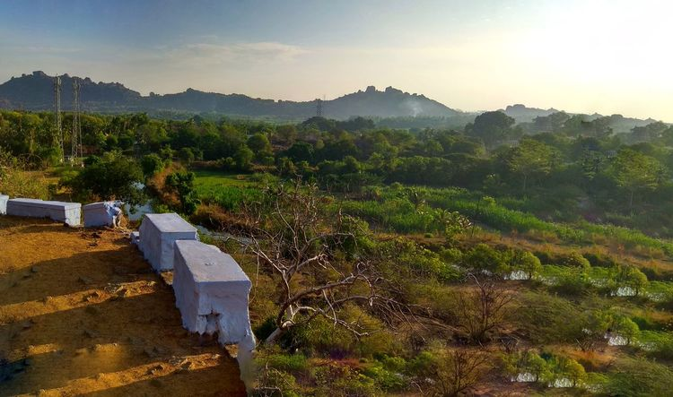 Beauty In Nature Day Kadayam Landscape Mountain Nature No People Outdoors Papanasam Plant Sky Tranquility Tree