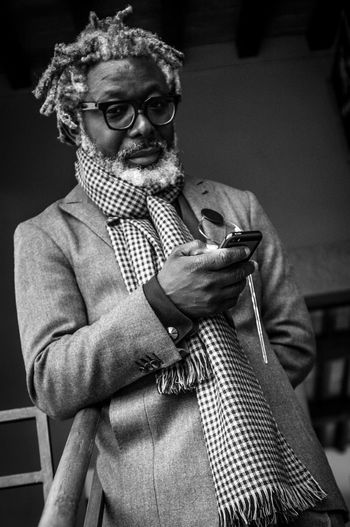 Pittiuomo85 Portrait Blackandwhite Street Fashion