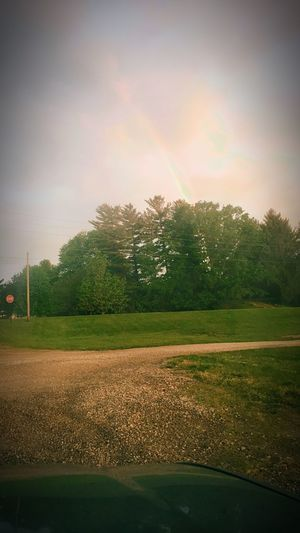 Rainbow Nature Beauty In Nature Scenics