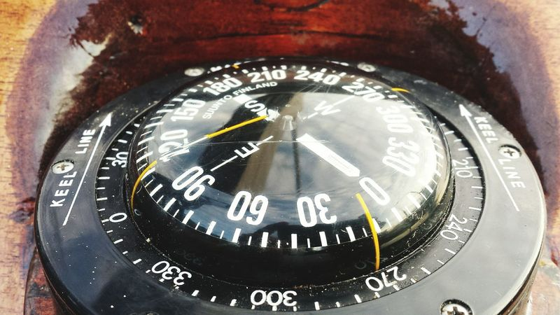 Wooden Boat Compass