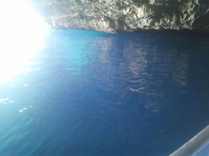 la cueva azul Cabrera
