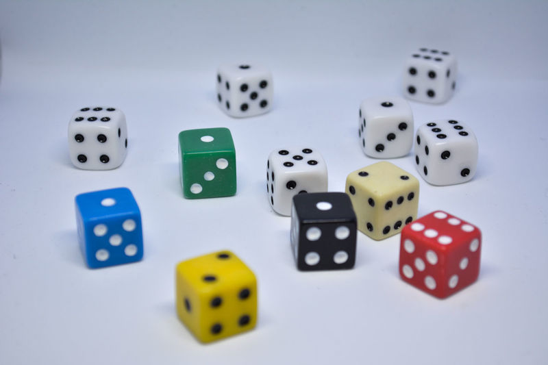 Chance Choice Close-up Day Dice Gambling Indoors  Leisure Games Luck No People Opportunity RISK