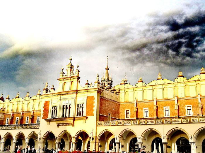 Krakow Market Square Poland Cracow Poland Oldtown