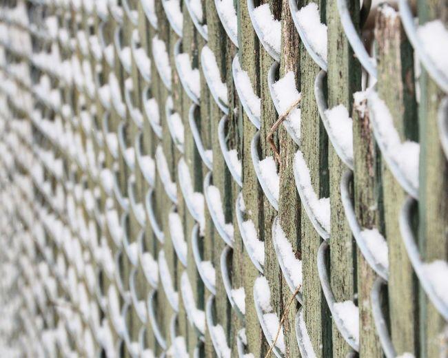 Full frame shot of rusty fence