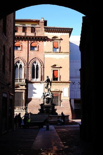 Bologna, Italy Fountain Neptun Neptune Fountain Giambologna Nettunobologna Piazza Nettuno Statua Del Nettuno