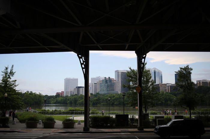 Potomac Washington DC Architecture Built Structure Sky Building Exterior City Tree Plant Office Building Exterior Travel Destinations Cityscape