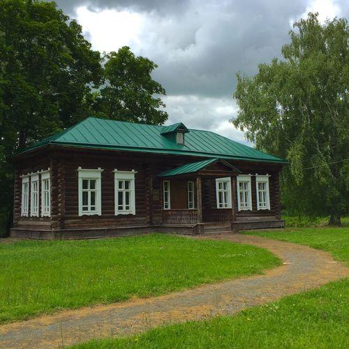 19th Century School Wooden Architecture History Aristocratic Mansion