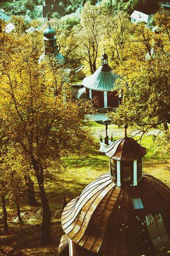Calvary Autumn Nature Historical Place