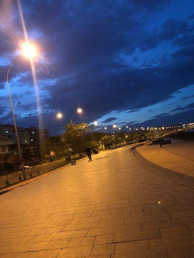 Atakum Sky Night Samsun Clouds Lovers Nightphotography Nigthlight Skylovers Atakent Outdoors Blacksea EyeEmNewHere