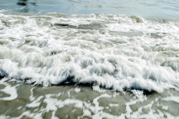 Beauty In Nature Day Motion Nature No People Outdoors Rippled Scenics Sea Water Waterfront Wave