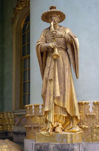 Germany🇩🇪 Architecture Art And Craft Built Structure Human Representation No People Potsdam Park Sanssouci Sculpture Statue