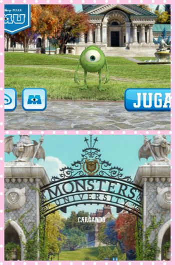 Me Encanta mi nuevo juego... Player Monsters University Wasauski