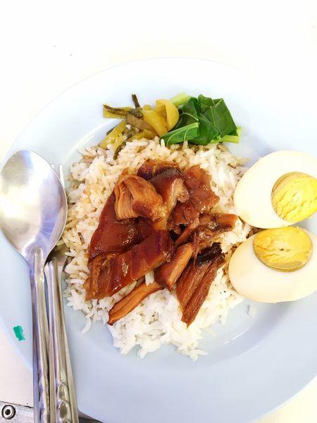 Stewed Pork Leg On Rice Thailand Food Food