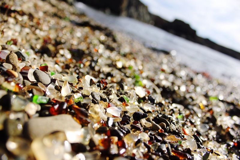 Glass Glass Beach Fort Bragg Beauty Mendocino County Glass On The Beach Unexpected Gems Sea Glass Seaglassbeach Sea Glass Hunting Therapeutic Activities Restful California Vacations Sea Glass Shore Sea Glass Up Close Textures Textures In Nature ur Scenic Route California Coast Norcal