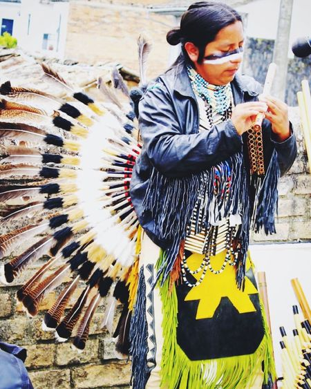 Picturing Individuality Native Colombia Musician Music Popayán