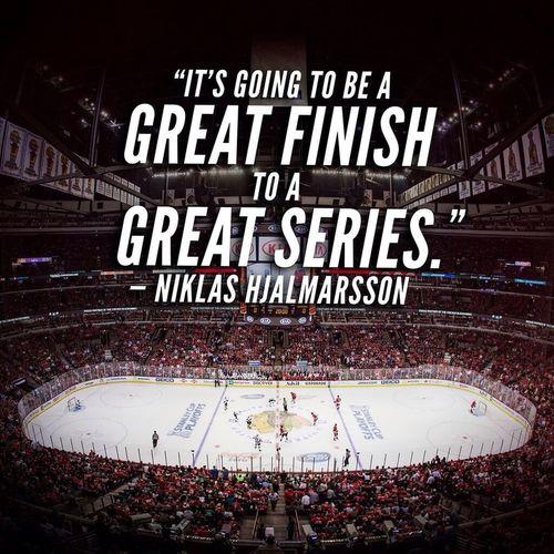 It was indeed a great series. Very intense. LoveHockey Hockey CHIvsLAK