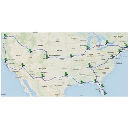 Bucket list road trip. Hit up all the big America cities! Instasize Buckerlist Oneday Fun roadtrip