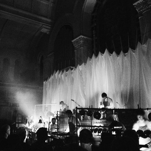 got taken to church by pantha du prince & the bell laboratory tonight