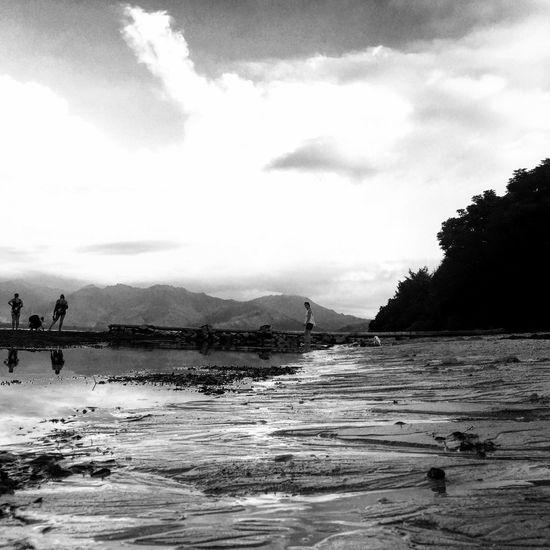 Traveling Gili Islands Bali Blackandwhite