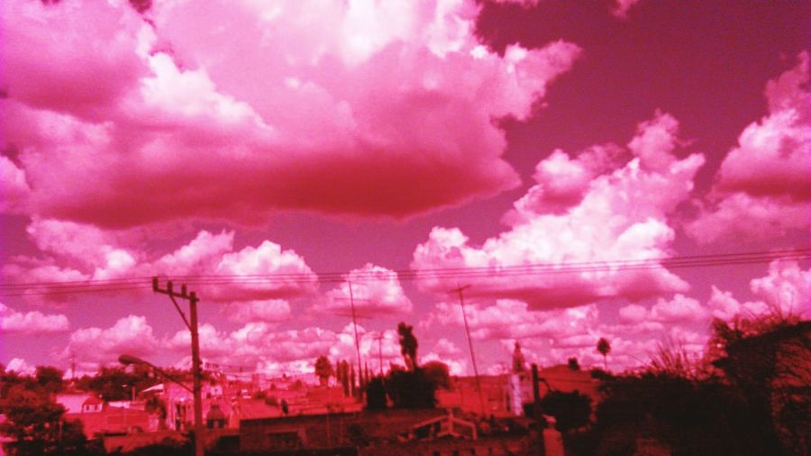 Cloud - Sky Clouds Pink In Color Pink Clouds