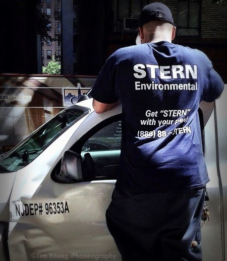 """Get """"STERN"""" With Your Pest"""