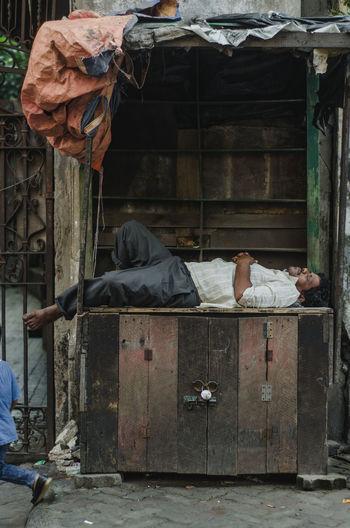 Sleeping Nikon Nikonphotography Nikon D7000 Cool Tones Kolkata One Person