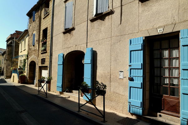 Architecture Building Exterior Chateauneufdupape Cityscapes Clear Sky Colorful Empty Street Eye4photography  EyeEm Best Shots EyeEm Gallery EyeEmBestPics Facades France From My Point Of View Grand Cru Historical Building Old Houses Provence The Week On EyeEm Tourism Window Wine Wine Tasting