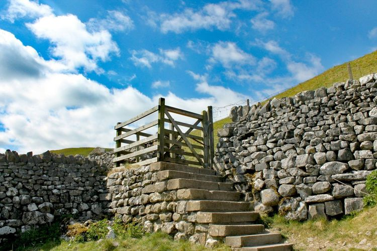 Yorkshire Steps Stone Material Old Ruin Staircase History Ancient Civilization Travel Destinations Steps And Staircases Cloud - Sky Ancient Archaeology Outdoors Built Structure Sky Architecture Day Yorkshire Yorkshire Dales No People Nature Beauty In Nature The Great Outdoors - 2017 EyeEm Awards