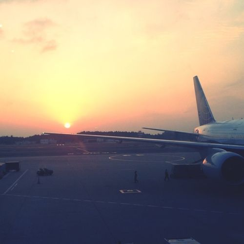 Thanks For The Amzing Sunset Japan :)