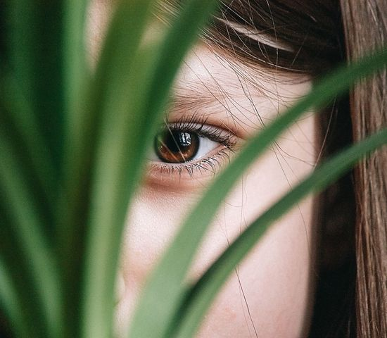Look Green Color Human Eye Portrait Looking At Camera Close-up Human Body Part Human Face Young Adult Eye Young Women Adult One Person People Indoors  Adults Only Eyelash Day One Young Woman Only