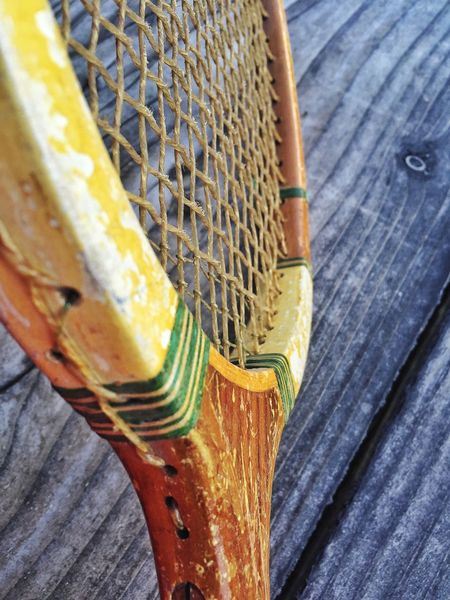 Old Tennis 🎾 Strings Tennis Racket Sold On Getty Images Sold On EyeEm Market