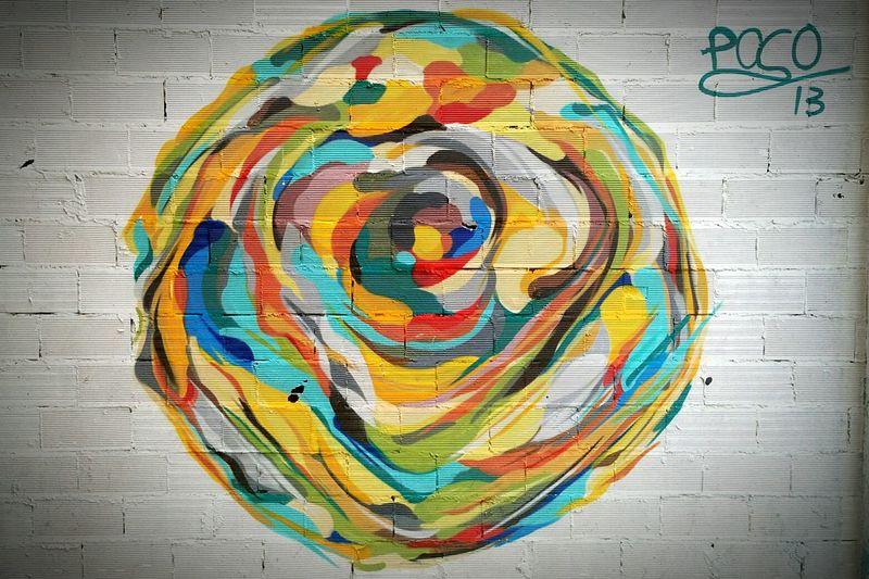 Life is colour. Graffiti Poco13 Valencia✌ Taking Photos Hello World Hi! Colorful Art Urbangraffiti Urbanphotography
