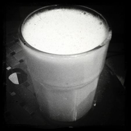 Banana milkshake :) extremely tasty !! ;)