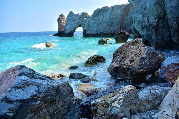 Rock Sea Rock -