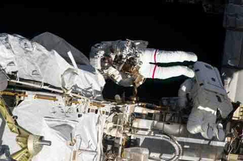 ultimate family walk . International space station Family Walks