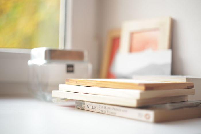 Book Day Stack Window Books Wilde Oscar Wilde