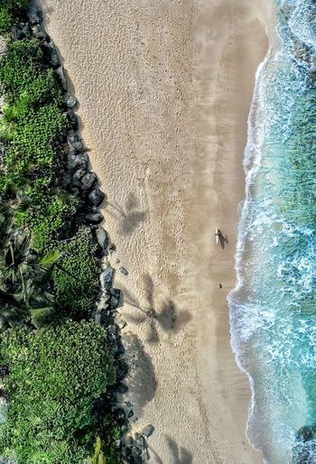 surfer's pathway DJI X Eyeem Surf Sand High Angle View Nature Beach Beauty In Nature Outdoors Day Wave Water Sea