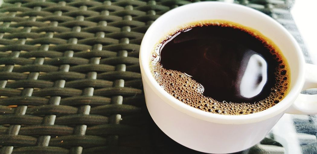 Refreshment time Refreshment Morning Dark White Cup Copy Space Black Coffee Hot Frothy Drink Drink Coffee - Drink Directly Above Table Coffee Cup High Angle View Close-up Food And Drink Espresso Coffee Caffeine Roasted Coffee Bean Hot Drink Raw Coffee Bean Coffee Bean Beverage