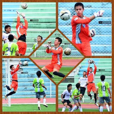 Top save of the match! @felixhocson ⚽ . . . Sbspotlight Soccerbible U17B UFL unitedfootballleague greenarchersunited greenarchersunitedfc football goalkeeper themanansala