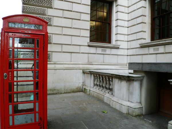 May these never disappear Historical Building Historical Place Connection Day Red Telephone Box Travel Red Footpath Pavement Telephone Box Communication Telephone Outdoors International Landmark Capital Cities  Travel Destinations London Tourism Sidewalk Building Exterior No People Famous Place British Culture Phone Booth
